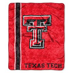 Texas Tech Red Raiders Sherpa Throw Blanket
