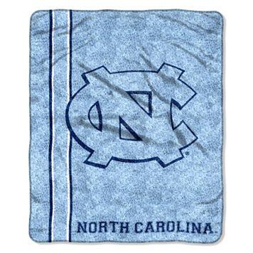 North Carolina Tar Heels Sherpa Throw Blanket