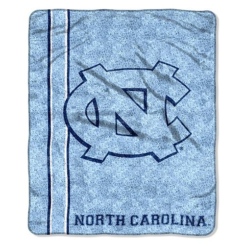 North Carolina Tar Heels Sherpa Throw Blanket