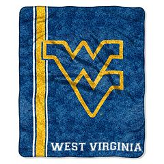 West Virginia Mountaineers Sherpa Blanket