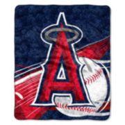 Los Angeles Angels of Anaheim Sherpa Blanket