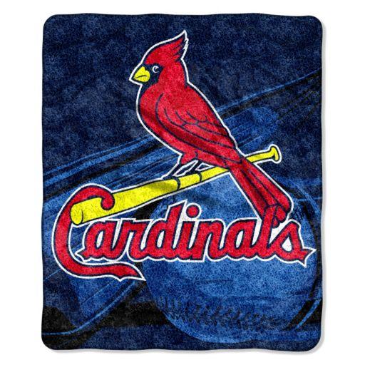 St. Louis Cardinals Sherpa Blanket