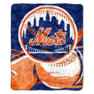 New York Mets Sherpa Blanket