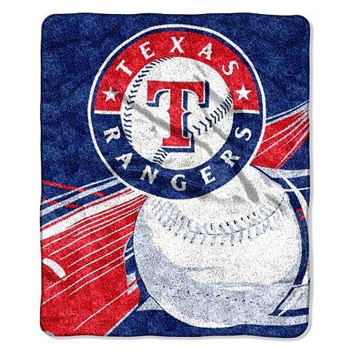 Texas Rangers Sherpa Blanket