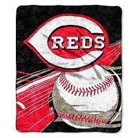 Cincinnati Reds Sherpa Blanket