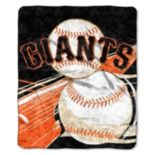 San Francisco Giants Sherpa Blanket