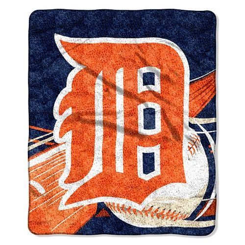 Detroit Tigers Sherpa Blanket