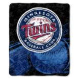 Minnesota Twins Sherpa Blanket