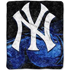 New York Yankees Sherpa Blanket
