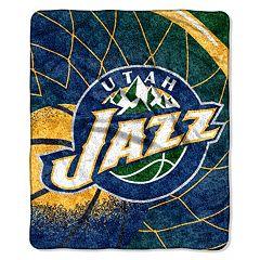 Utah Jazz Sherpa Blanket