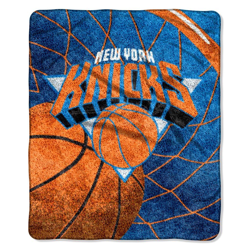 New York Knicks Sherpa Blanket