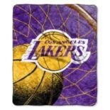 Los Angeles Lakers Sherpa Blanket