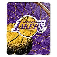 Los Angeles Lakers Sherpa Blanket