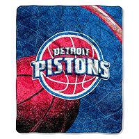 Detroit Pistons Sherpa Blanket