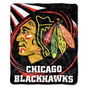 Chicago Blackhawks Sherpa Blanket