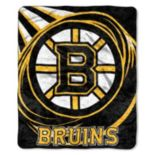 Boston Bruins Sherpa Blanket