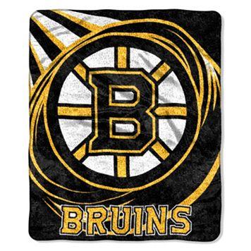 Boston Bruins Sherpa Blanket