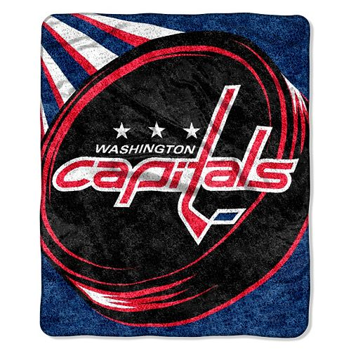 Washington Capitals Sherpa Blanket