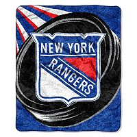 New York Rangers Sherpa Blanket