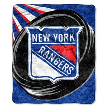 New York Rangers Sherpa Blanket