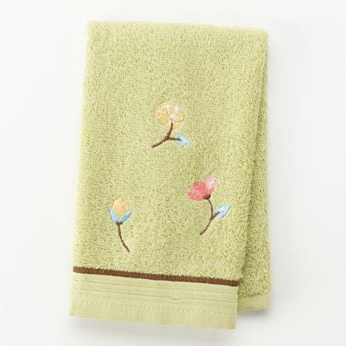 Alyssa Embroidered Fingertip Towel