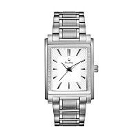 Bulova Men's Diamond Stainless Steel Watch - 96E113