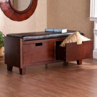 Almont 2-Drawer Storage Bench