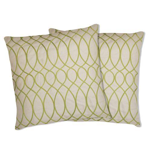 Lush Decor Ginna 2 Pk Decorative Pillows