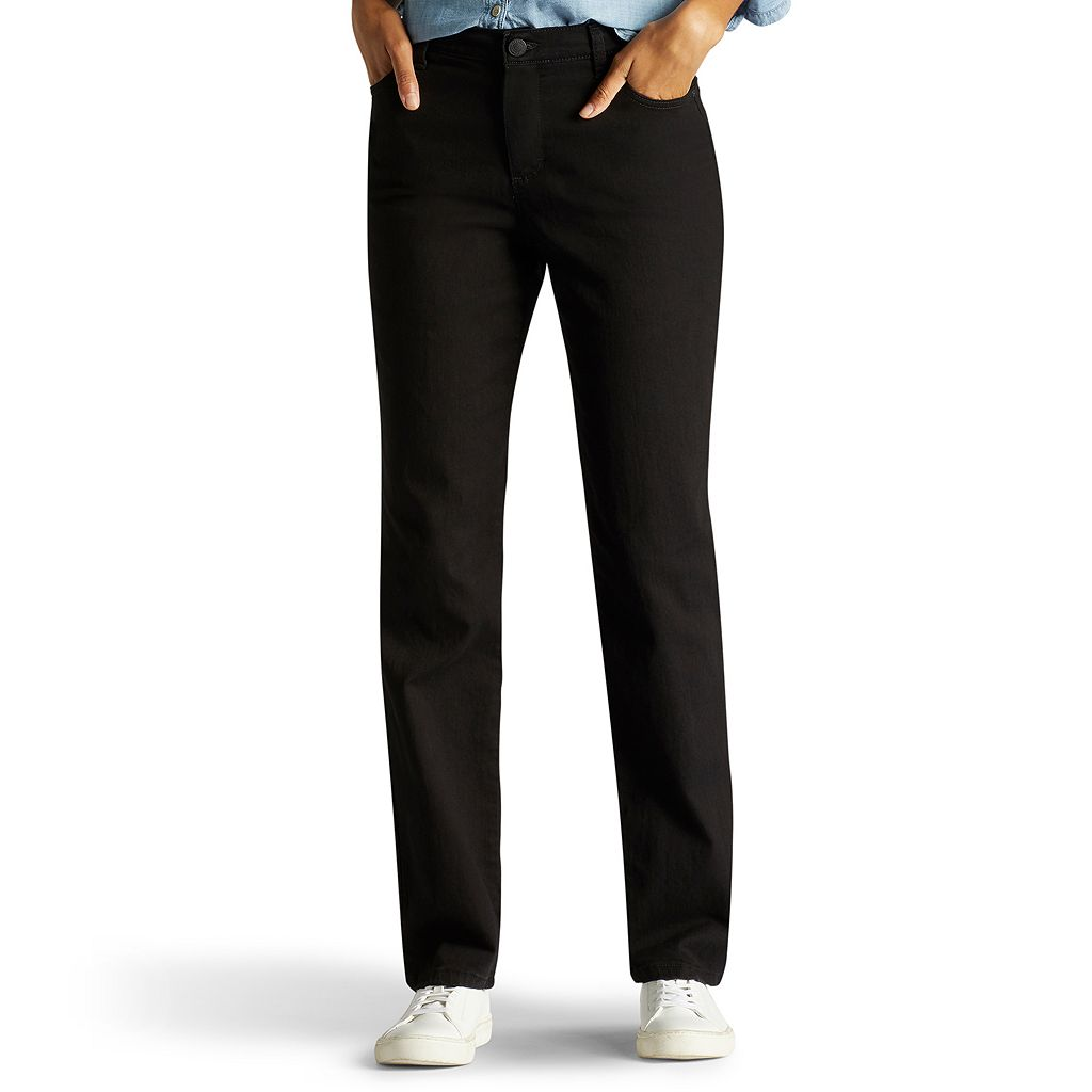 Women's Lee Monroe Classic Fit Slimming Straight-Leg Jeans