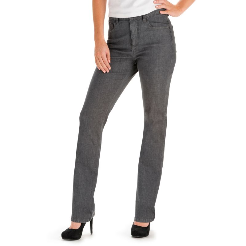LEE CLASSIC FIT SLIMMING STRAIGHT-LEG JEANS - WOMEN'S