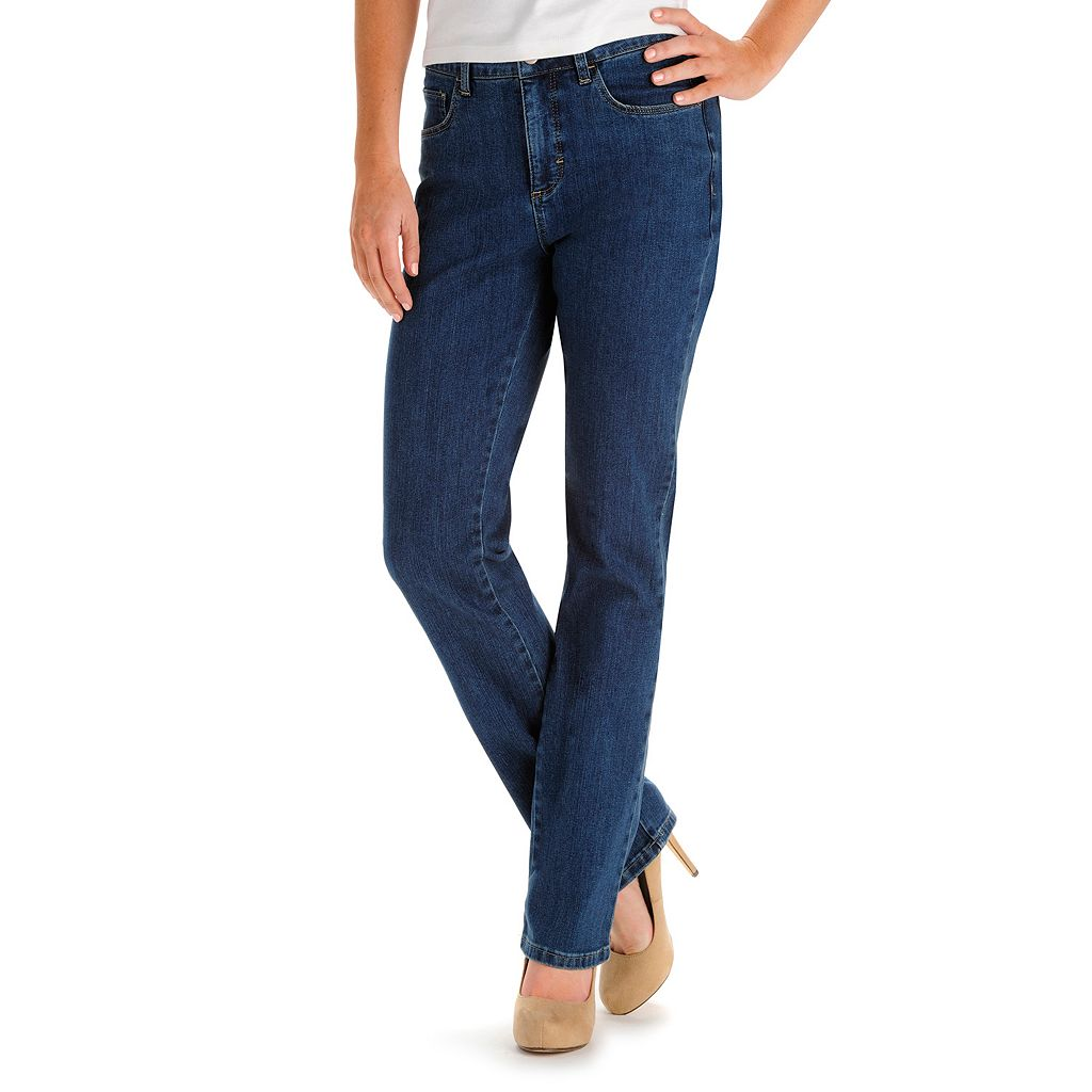 Women's Lee Monroe Classic Fit Slimming Straight-Leg Jeans