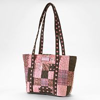 Donna Sharp Leah Quilted Patchwork Tote