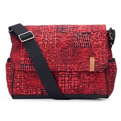 Donna Sharp Pauline Quilted Patchwork Messenger Bag