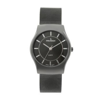 Peugeot Gunmetal Mesh Watch - 1002GN - Men