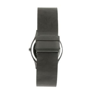 Peugeot Gunmetal Mesh Watch - 1002GN - Men