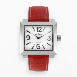 Peugeot Women's Leather Watch - 706RD