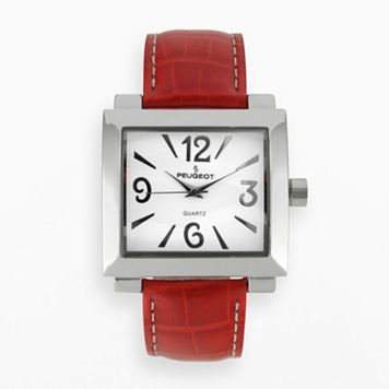 Peugeot Women's Leather Watch - 706RD