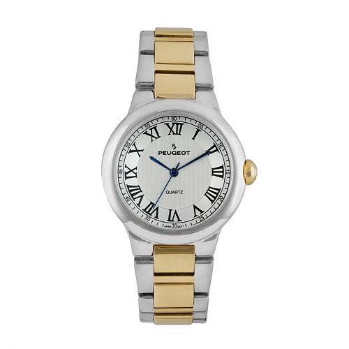 Peugeot Women's Two Tone Watch - 7086TT