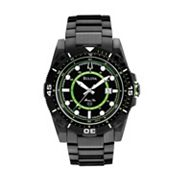 Bulova Marine Star Stainless Steel Black Ion Watch - 98B178 - Men