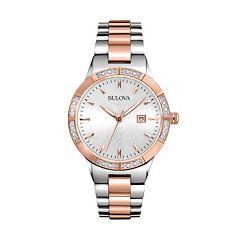Bulova Watch - Women's Diamond Two Tone Stainless Steel - 98R169