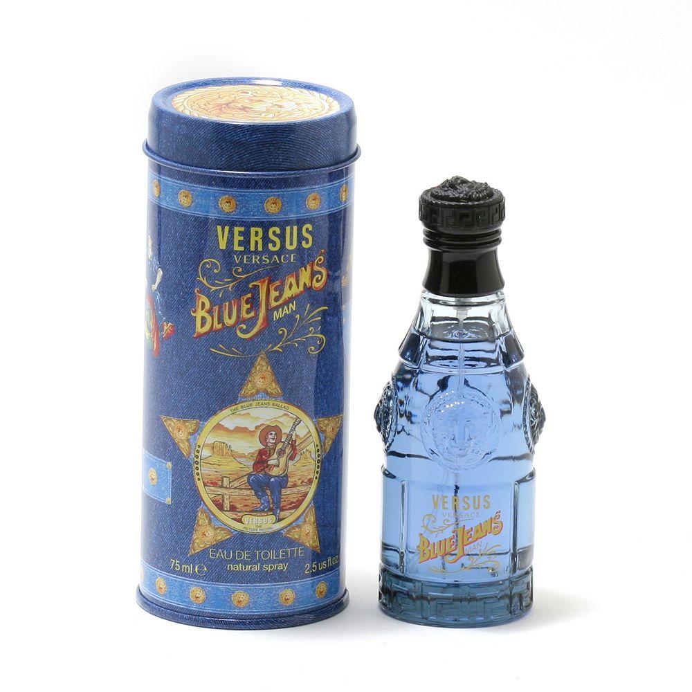 Versace Blue Jeans Man Men's Cologne - Eau de Toilette