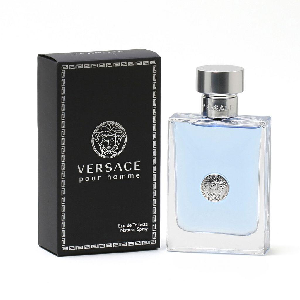 Versace Pour Homme Men's Cologne - Eau de Toilette