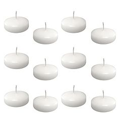 LumaBase 12 pkLarge Floating Candles - Indoor & Outdoor