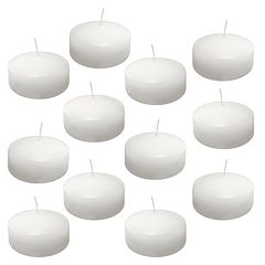 LumaBase 12 pkExtra-Large Floating Candles - Indoor & Outdoor