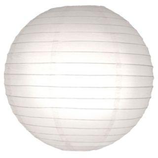 LumaBase 5-pk. Round Paper Lanterns - Indoor and Outdoor