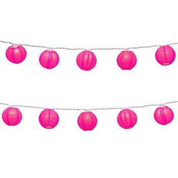String Lights Kohls : LumaBase Round Paper Lantern Electric String Lights - Indoor and Outdoor