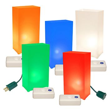 LumaBase 10-pk. Luminaria Kit - Indoor & Outdoor