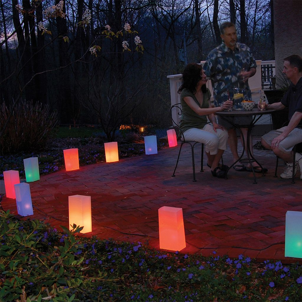 LumaBase 10-pk. Luminaria Kit - Indoor and Outdoor