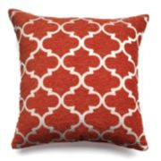 Spencer Home Decor Club Lattice Throw Pillow