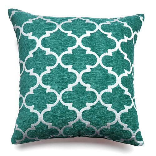 Club Lattice Decorative Pillow - 20 x 20